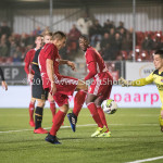 03-11-2017: Voetbal: Almere City FC v Jong AZ: Almere (L-R) Damon Mirani (Almere City FC), Nick Olij (Jong AZ) Jupiler League 2017 / 2018