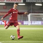 03-11-2017: Voetbal: Almere City FC v Jong AZ: Almere Dennis van der Heijden (Almere City FC) Jupiler League 2017 / 2018
