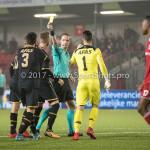 03-11-2017: Voetbal: Almere City FC v Jong AZ: Almere Ingmar Oostrom (Scheidsrechter) Jupiler League 2017 / 2018