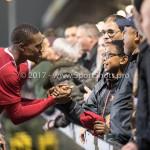 03-11-2017: Voetbal: Almere City FC v Jong AZ: Almere Arsenio Valpoort (Almere City FC) Jupiler League 2017 / 2018