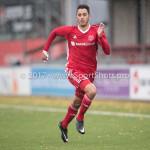 18-11-2017: Voetbal: Jong Almere City v VVOG: Almere Khalid Tadmine (Jong Almere City FC) 3de divisie zaterdag 2017 / 2018
