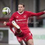 18-11-2017: Voetbal: Jong Almere City v VVOG: Almere Nicky van Hilten (Jong Almere City FC) 3de divisie zaterdag 2017 / 2018