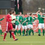 18-11-2017: Voetbal: Jong Almere City v VVOG: Almere VVOG celebrating 0-1 3de divisie zaterdag 2017 / 2018
