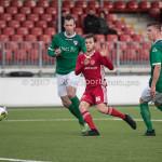 18-11-2017: Voetbal: Jong Almere City v VVOG: Almere James Efmorfidis (Jong Almere City FC) 2-2 3de divisie zaterdag 2017 / 2018