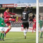 18-11-2017: Voetbal: Jong Almere City v VVOG: Almere (L-R) Ruggero Mannes (Jong Almere City FC), ovv01 3de divisie zaterdag 2017 / 2018