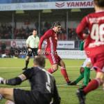 18-11-2017: Voetbal: Jong Almere City v VVOG: Almere Samet Bulut (Jong Almere City FC) 3de divisie zaterdag 2017 / 2018