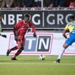 27-11-2017: Voetbal: Almere City FC v RKC Waalwijk: Almere (L-R) Leeroy Owusu (Almere City FC), Gigli Ndefe (RKC Waalwijk) Jupiler League 2017 / 2018
