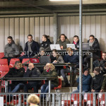 27-11-2017: Voetbal: Almere City FC v RKC Waalwijk: Almere Pers tribune Jupiler League 2017 / 2018