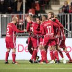 27-11-2017: Voetbal: Almere City FC v RKC Waalwijk: Almere Almere City FC Celebrating 2-1 Jupiler League 2017 / 2018
