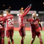 27-11-2017: Voetbal: Almere City FC v RKC Waalwijk: Almere .l Silvester van de Water (Almere City FC), Kees van Buuren (Almere City FC) Jupiler League 2017 / 2018