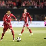 27-11-2017: Voetbal: Almere City FC v RKC Waalwijk: Almere (L-R) Jan Lammers (RKC Waalwijk), Gaston Salasiwa (Almere City FC) Jupiler League 2017 / 2018