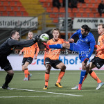 01-12-2017: Voetbal: FC Volendam v Almere City FC: Volendam (L-R) Hobie Verhulst (FC Volendam), Ezra Walian (Almere City FC) Jupiler League 2017 / 2018