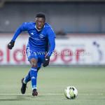 01-12-2017: Voetbal: FC Volendam v Almere City FC: Volendam Leeroy Owusu (Almere City FC) Jupiler League 2017 / 2018