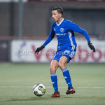 01-12-2017: Voetbal: FC Volendam v Almere City FC: Volendam Anass Ahannach (Almere City FC) Jupiler League 2017 / 2018