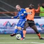 01-12-2017: Voetbal: FC Volendam v Almere City FC: Volendam (L-R) Kees van Buuren (Almere City FC), Rodney Antwi (FC Volendam) Jupiler League 2017 / 2018
