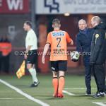 01-12-2017: Voetbal: FC Volendam v Almere City FC: Volendam (L-R) Ties Evers (FC Volendam), Jack de Gier - Technisch manager/Hoofdtrainer (Almere City FC) Jupiler League 2017 / 2018