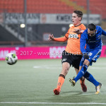 01-12-2017: Voetbal: FC Volendam v Almere City FC: Volendam (L-R) Joey Veerman (FC Volendam), Gaston Salasiwa (Almere City FC) Jupiler League 2017 / 2018
