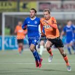 01-12-2017: Voetbal: FC Volendam v Almere City FC: Volendam (L-R) Ezra Walian (Almere City FC), Erik Schouten (FC Volendam)