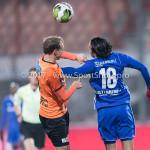 01-12-2017: Voetbal: FC Volendam v Almere City FC: Volendam (L-R) Erik Schouten (FC Volendam), Ezra Walian (Almere City FC) Jupiler League 2017 / 2018
