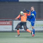 01-12-2017: Voetbal: FC Volendam v Almere City FC: Volendam (L-R) Rodney Antwi (FC Volendam), Kees van Buuren (Almere City FC) Jupiler League 2017 / 2018