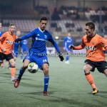 01-12-2017: Voetbal: FC Volendam v Almere City FC: Volendam (L-R) Anass Ahannach (Almere City FC), Henny Schilder (FC Volendam) Jupiler League 2017 / 2018