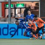 01-12-2017: Voetbal: FC Volendam v Almere City FC: Volendam (L-R) Nick Doodeman (FC Volendam), Arsenio Valpoort (Almere City FC), Ali Ulusoy (FC Volendam) Jupiler League 2017 / 2018