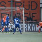 01-12-2017: Voetbal: FC Volendam v Almere City FC: Volendam Chiel Kramer (Almere City FC) Jupiler League 2017 / 2018