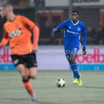 01-12-2017: Voetbal: FC Volendam v Almere City FC: Volendam Delvechio Blackson (Almere City FC) Jupiler League 2017 / 2018