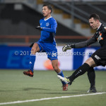 01-12-2017: Voetbal: FC Volendam v Almere City FC: Volendam (L-R) Anass Ahannach (Almere City FC), Hobie Verhulst (FC Volendam) Jupiler League 2017 / 2018