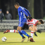 15-12-2017: Voetbal: Jong PSV v Almere City FC: Eindhoven (L-R) Arsenio Valpoort (Almere City FC), Bram van Vlerken (Jong PSV) Jupiler League 2017 / 2018