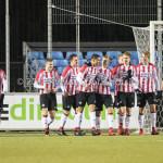 15-12-2017: Voetbal: Jong PSV v Almere City FC: Eindhoven PSV Celebrating 1-0 Jupiler League 2017 / 2018