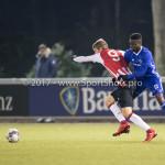 15-12-2017: Voetbal: Jong PSV v Almere City FC: Eindhoven (L-R) osv09, Leeroy Owusu (Almere City FC) Jupiler League 2017 / 2018