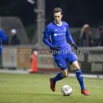 15-12-2017: Voetbal: Jong PSV v Almere City FC: Eindhoven Dennis van der Heijden (Almere City FC) Jupiler League 2017 / 2018