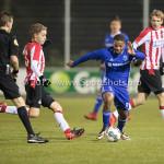 15-12-2017: Voetbal: Jong PSV v Almere City FC: Eindhoven Jerge Hoefdraad (Almere City FC) Jupiler League 2017 / 2018