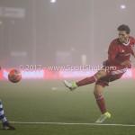 22-12-2017: Voetbal: Almere City FC v FC Eindhoven: Almere (L-R) Doriano Kortstam (FC Eindhoven), Javier Vet (Almere City FC) Jupiler League 2017 / 2018