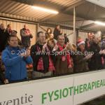 22-12-2017: Voetbal: Almere City FC v FC Eindhoven: Almere Supporters Almere City FC Jupiler League 2017 / 2018