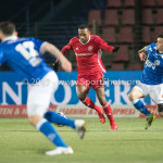 12-01-2018: Voetbal: FC Den Bosch v Almere City FC: Den Bosch Arsenio Valpoort (Almere City FC) Jupiler League 2017 / 2018