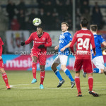 12-01-2018: Voetbal: FC Den Bosch v Almere City FC: Den Bosch Calvin Mac Intosch (Almere City FC) Jupiler League 2017 / 2018