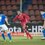 12-01-2018: Voetbal: FC Den Bosch v Almere City FC: Den Bosch (L-R)Mats Deijl (FC Den Bosch), Arsenio Valpoort (Almere City FC), Sam Kersten (FC Den Bosch) Jupiler League 2017 / 2018