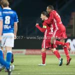 12-01-2018: Voetbal: FC Den Bosch v Almere City FC: Den Bosch (L-R) Tom Overtoom (Almere City FC) 1-1, Arsenio Valpoort (Almere City FC) Jupiler League 2017 / 2018