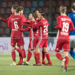 12-01-2018: Voetbal: FC Den Bosch v Almere City FC: Den Bosch Almere City FC Celebrating 1-1 Jupiler League 2017 / 2018