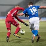 12-01-2018: Voetbal: FC Den Bosch v Almere City FC: Den Bosch (L-R) JSilvester van de Water (Almere City FC),ordy van der Winden (FC Den Bosch), Jupiler League 2017 / 2018
