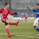 12-01-2018: Voetbal: FC Den Bosch v Almere City FC: Den Bosch (L-R) Dennis van der Heijden (Almere City FC), Sam Kersten (FC Den Bosch) Jupiler League 2017 / 2018