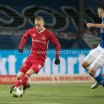 12-01-2018: Voetbal: FC Den Bosch v Almere City FC: Den Bosch (L-R) Silvester van de Water (Almere City FC), Sam Kersten (FC Den Bosch) Jupiler League 2017 / 2018