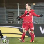 12-01-2018: Voetbal: FC Den Bosch v Almere City FC: Den Bosch (L-R) Dennis van der Heijden (Almere City FC), Silvester van de Water (Almere City FC) 1-3 Jupiler League 2017 / 2018