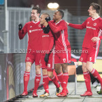 12-01-2018: Voetbal: FC Den Bosch v Almere City FC: Den Bosch (L-R) Dennis van der Heijden (Almere City FC), Silvester van de Water (Almere City FC),  Arsenio Valpoort (Almere City FC), Josef Kvída (Almere City FC) Jupiler League 2017 / 2018
