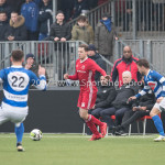 13-01-2018: Voetbal: Jong Almere City v Spakenburg: Almere Arian Ibrahim Sevok (Jong Almere City FC) 3de divisie zaterdag 2017 / 2018