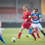 13-01-2018: Voetbal: Jong Almere City v Spakenburg: Almere Adriaan Kruisheer (Jong Almere City FC) 3de divisie zaterdag 2017 / 2018