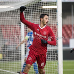 13-01-2018: Voetbal: Jong Almere City v Spakenburg: Almere Khalid Tadmine (Jong Almere City FC) 1-4 3de divisie zaterdag 2017 / 2018