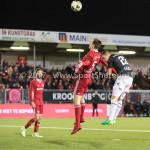19-01-2018: Voetbal: Almere City FC v NEC: Almere (L-R) Josef Kvída (Almere City FC), Michael Heinloth (NEC) Jupiler League 2017 / 2018